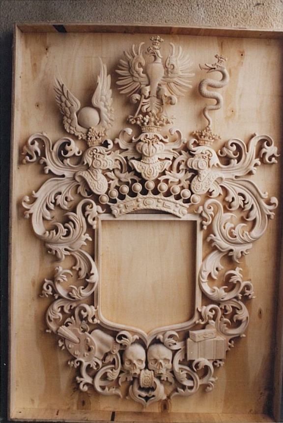 woodcarving mirror frame